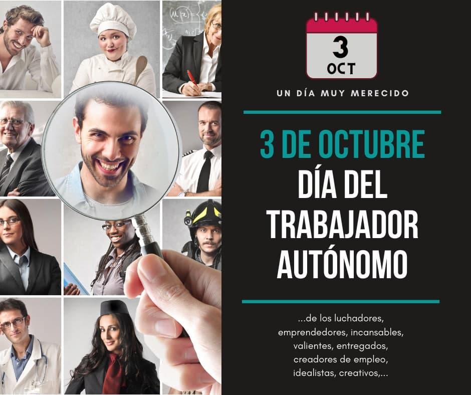 3 de octubre Día Nacional Del Autónomo